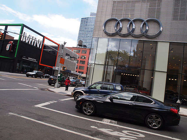 Urban Planning: Audi and Volkswagen Star in New York