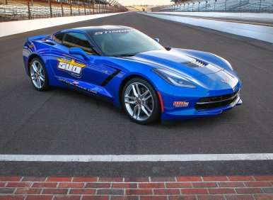 Harbaugh to Return to Indy—In a 2014 Chevy Corvette Stingray