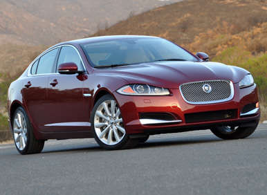 2013 Jaguar XF Quick Spin Luxury Car Review