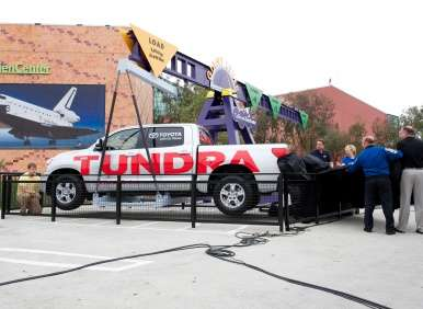 Toyota Tundra Space Shuttle on Exhibit