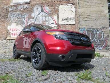 2013 Ford Explorer Sport SUV Road Test and Review