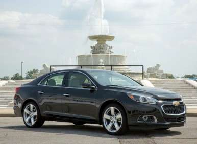 Chevrolet  Reveals Refreshed 2014 Chevy Malibu