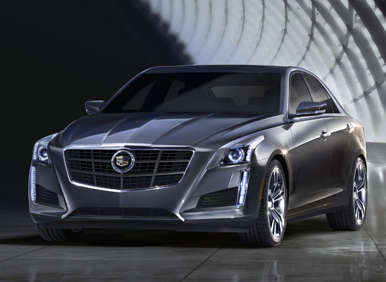 Meet the 2014 Cadillac CTS