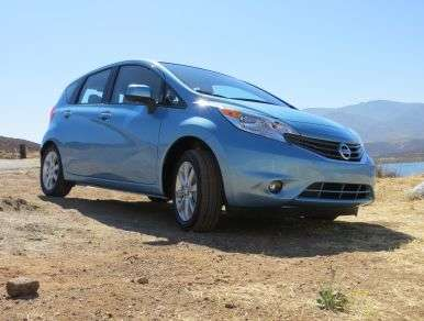 First Drive - 2014 Nissan Versa Note