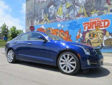 Competitive Comparison - 2013 Cadillac ATS 2.0 Performance vs. 2013 Buick Regal GS