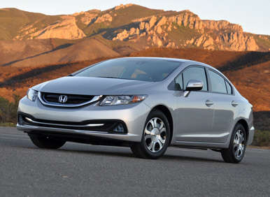 2013 Honda Civic Hybrid Quick Spin Review