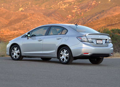 2013 honda civic hybrid quick spin review. Black Bedroom Furniture Sets. Home Design Ideas