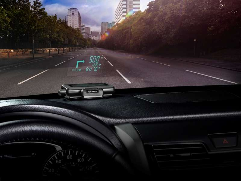 Garmin Introduces A Portable Heads-Up Display System