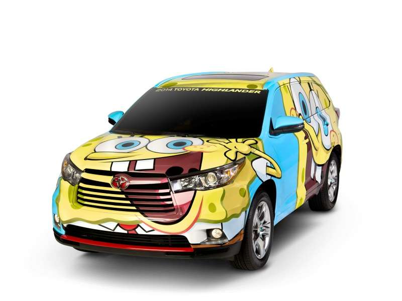 Meet The 2014 Spongebob Squarepants Toyota Highlander