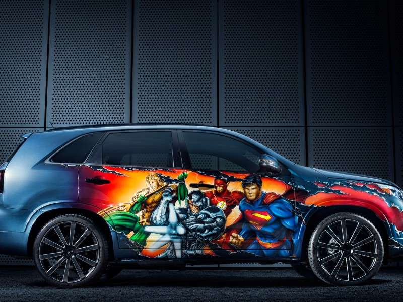 2014 Kia Sorento Justice League Edition Now on Sale