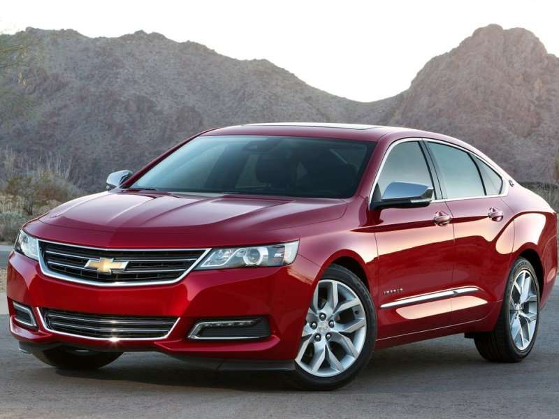 NHTSA: 2014 Chevy Impala Earns 5-Star Overall Vehicle Score