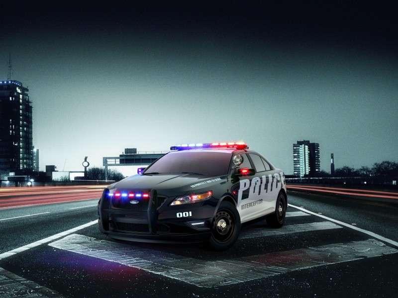Ford Police Interceptor Models Have Driver