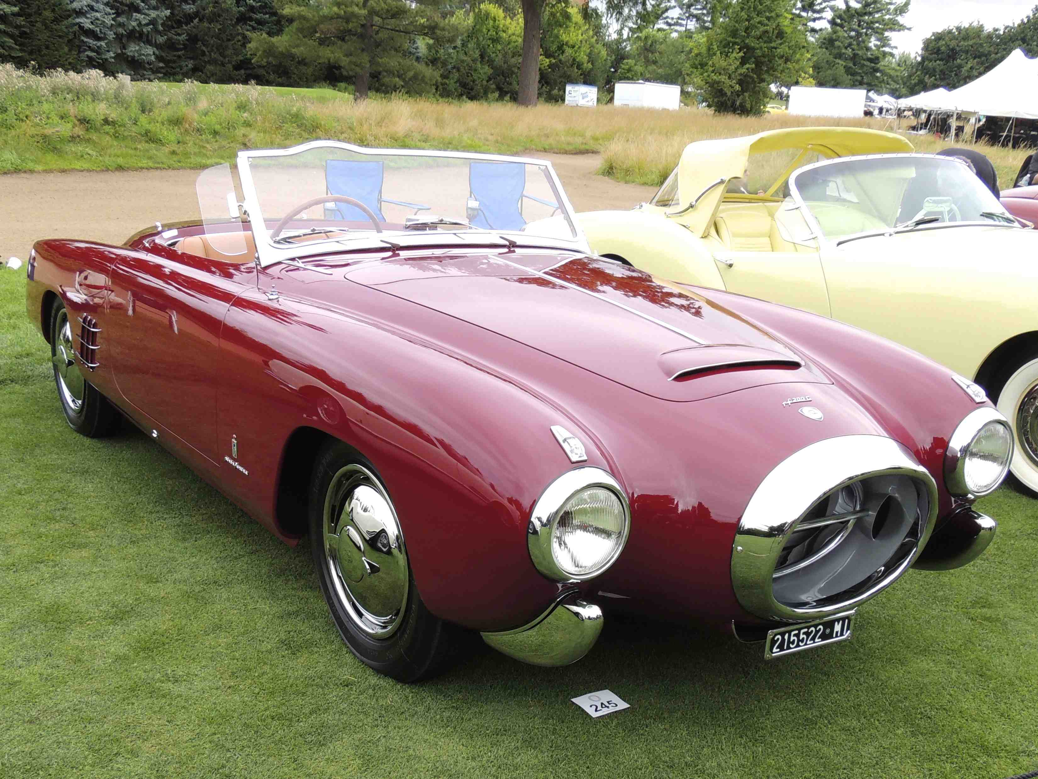 Nearly 375 cars displayed at 2013 concours d elegance of for Jet cars review