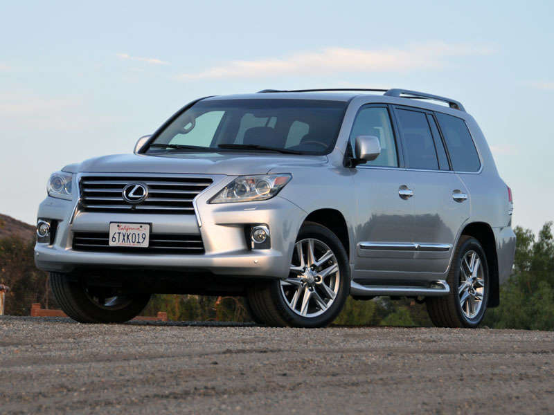 2013 Lexus LX 570 Luxury SUV Quick Spin Review
