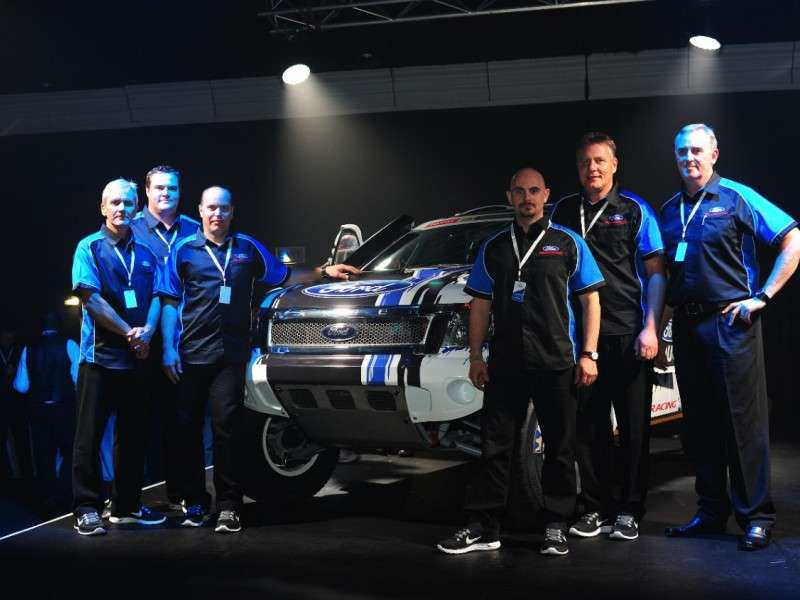 Ford Enters Two Ranger Pickups in 2014 Dakar Rally