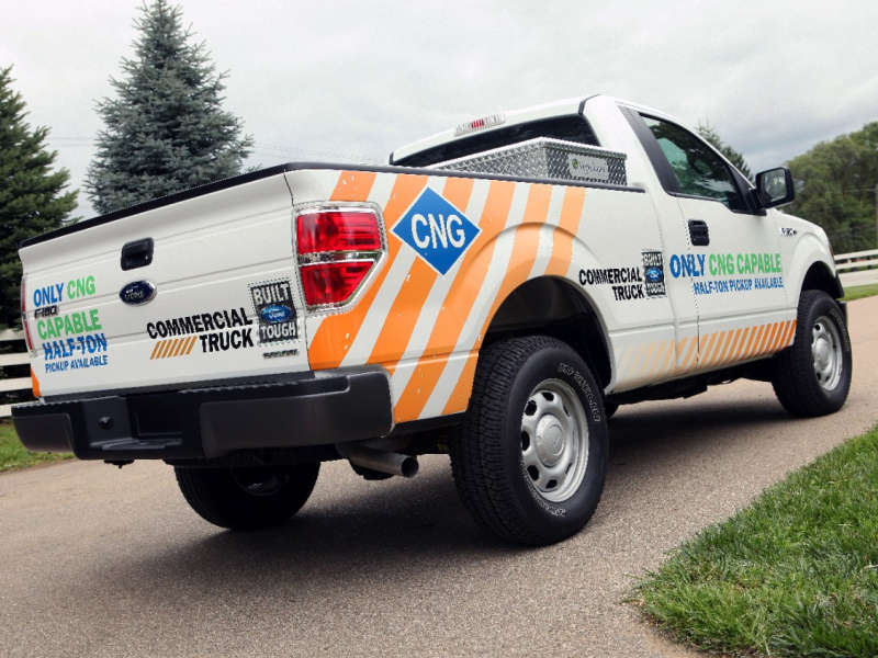 Ford Announces 2014 F-150 To Come With A CNG/LPG Prep Package