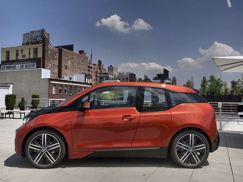BMW i3 EV: Electric Car Photo Gallery