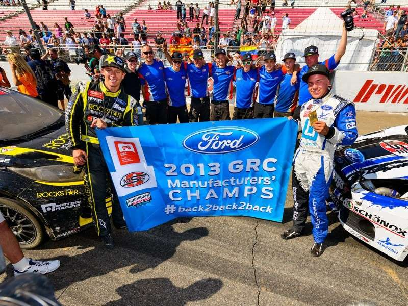 Ford Takes Home Global Rallycross Manufacturers' Championship