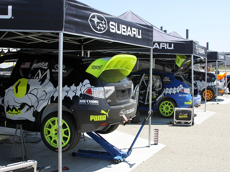 Subaru Global Rallycross Team Testing Pre-2013 X Games