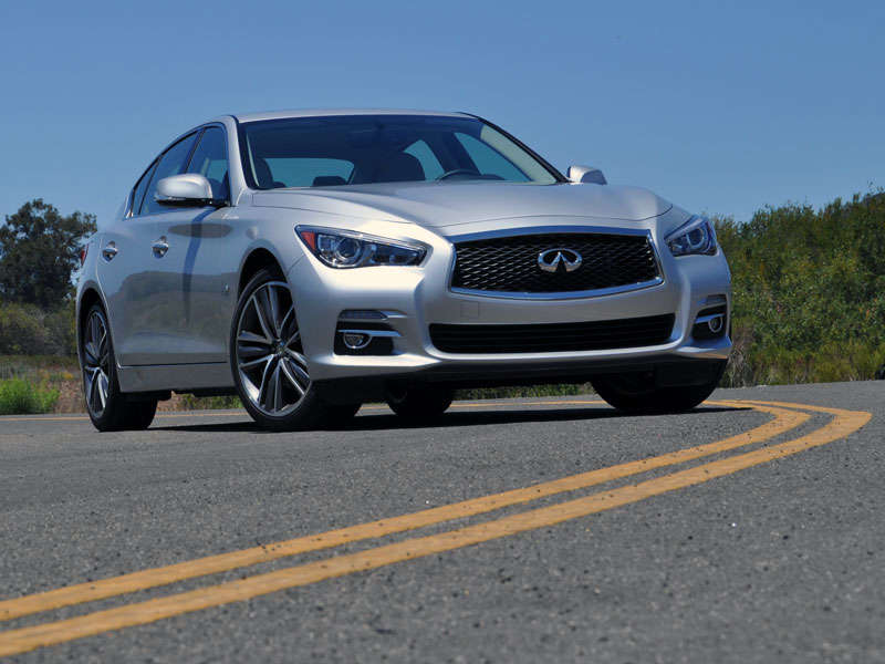 2014 Infiniti Q50 Luxury Sport Sedan First Drive Review