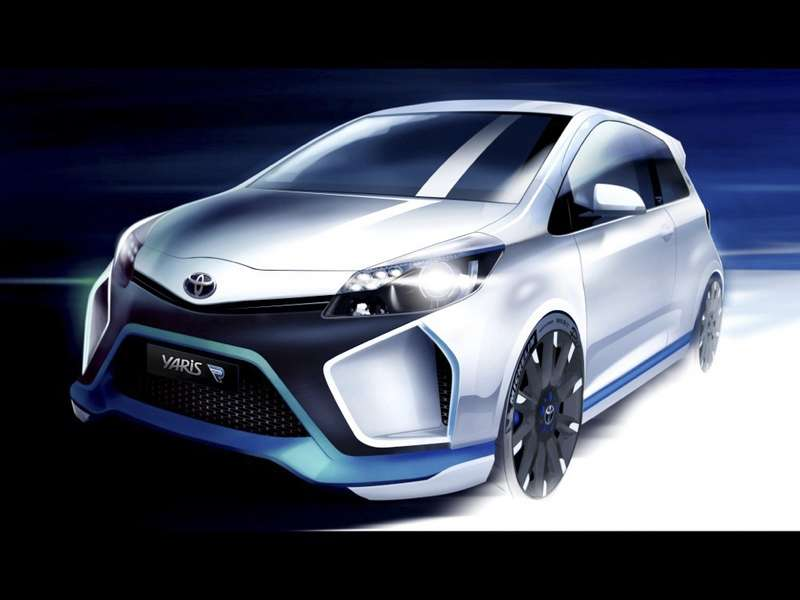 Toyota Hybrid-R Rendered