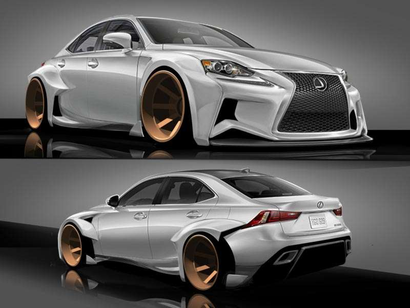 Lexus and DeviantArt Announce Winners For IS SEMA Contest
