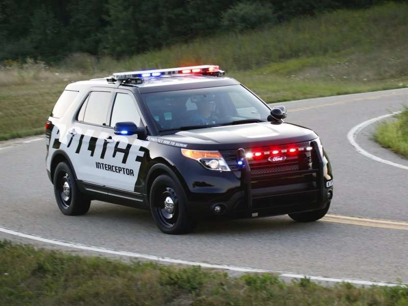 Ford Police Interceptor Utility Gets EcoBoosted