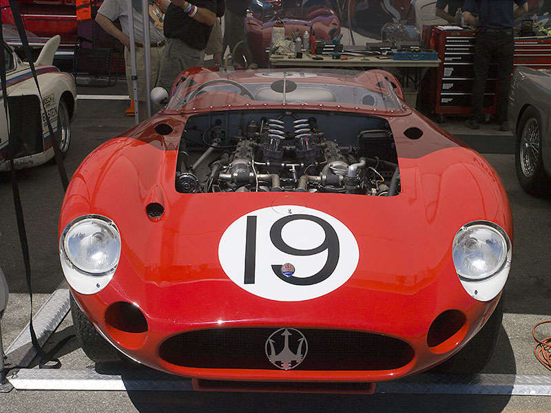 vintage racing cars at the rolex monterey motorsports
