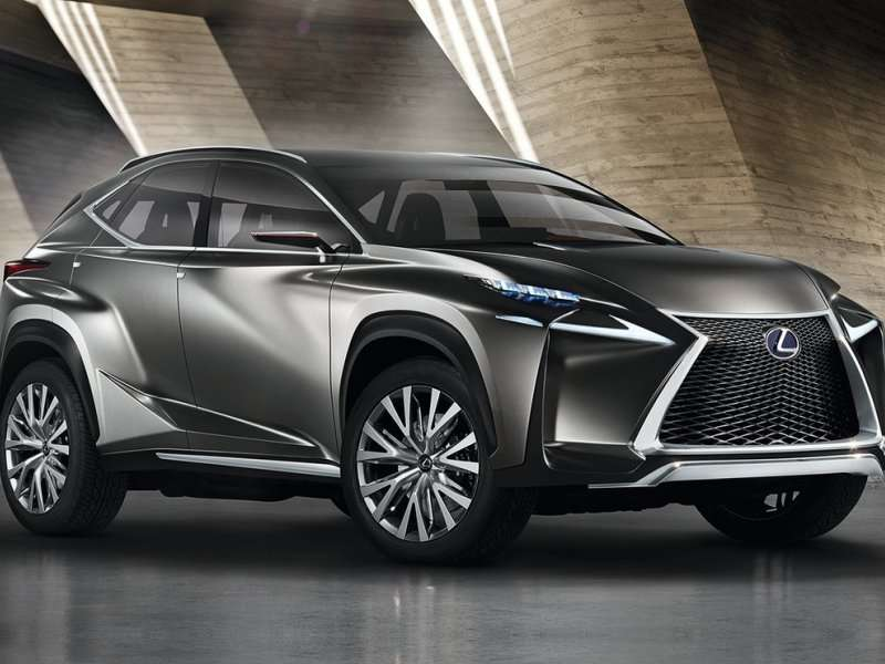 Frankfurt Motor Show: Lexus Shows How Dramatic A Compact Crossover Concept Can Be