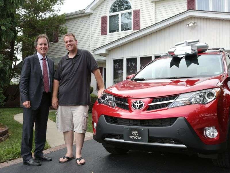 Toyota Does Something Very Special For Their 50 Millionth Customer