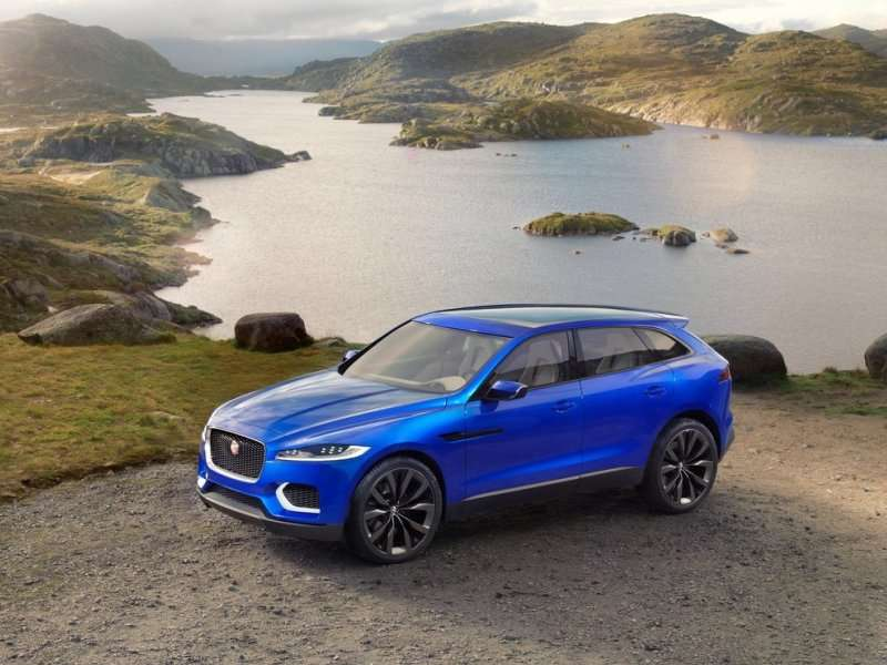 Frankfurt Motor Show: Jaguar Reveals The C-X17 Crossover Concept