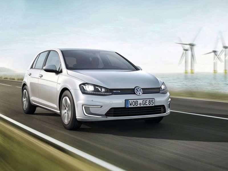 Volkswagen Debuts VW Golf EV in Frankfurt