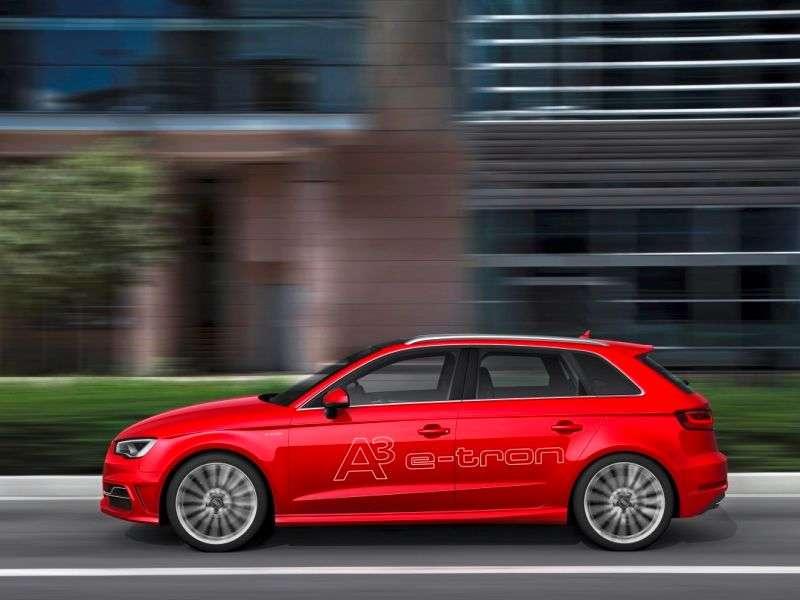 Plug-in Premiere: 2014 Audi A3 e-tron Reveals Specs