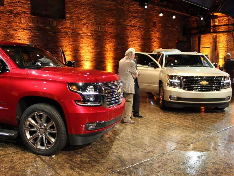 Chevrolet Refreshes its Bread-and-Butter Tahoe and Suburban SUVs for 2015