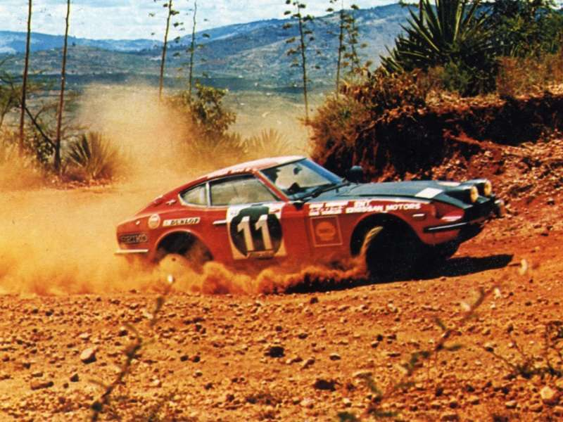 Nissan To Restore One Of The Legendary Safari Rally Z Vehicles
