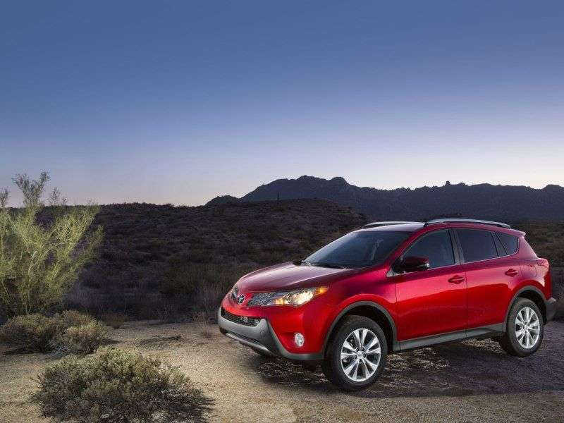 2014 Toyota RAV4 Gets New Technology and Safety Systems