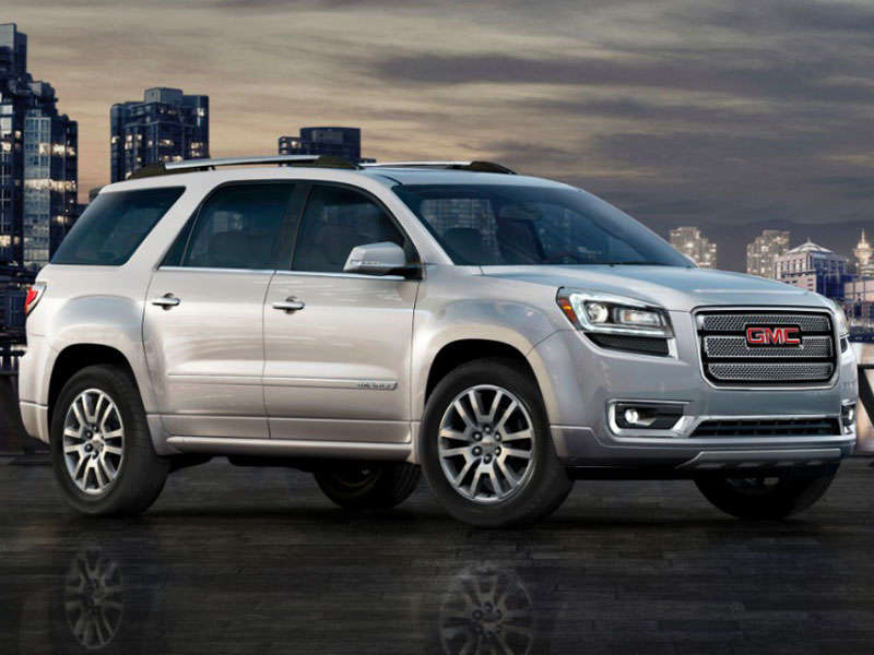 2013 gmc acadia crossover suv road test and review. Black Bedroom Furniture Sets. Home Design Ideas