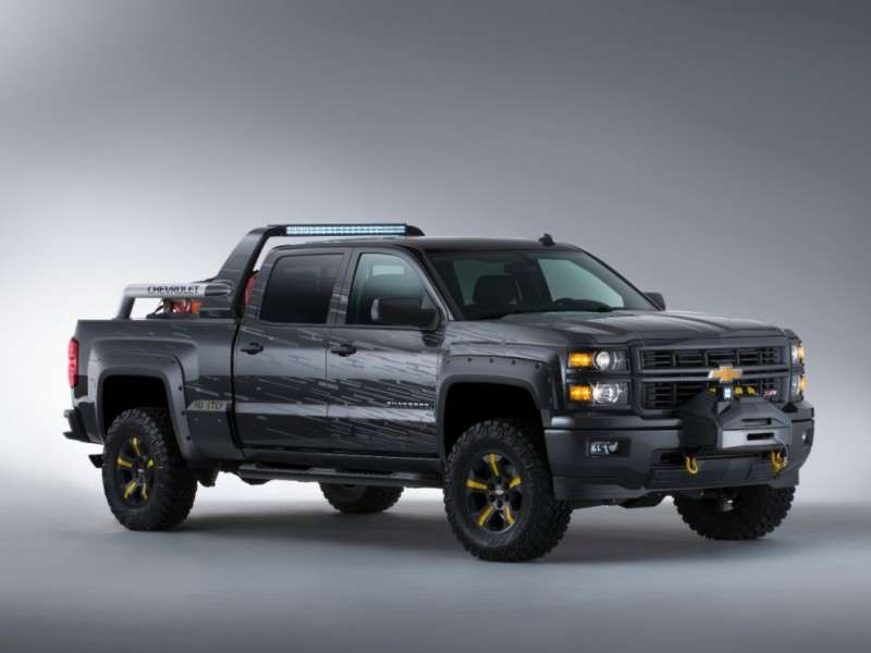 2014 Chevy Silverado Concepts for First Responders, Last Days