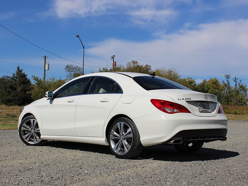 2014 mercedes benz cla250 compact luxury sedan first drive for How much is a 2014 mercedes benz