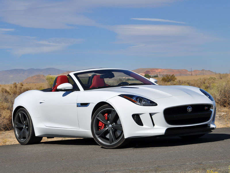 2014 jaguar f type v8 s roadster video review. Black Bedroom Furniture Sets. Home Design Ideas