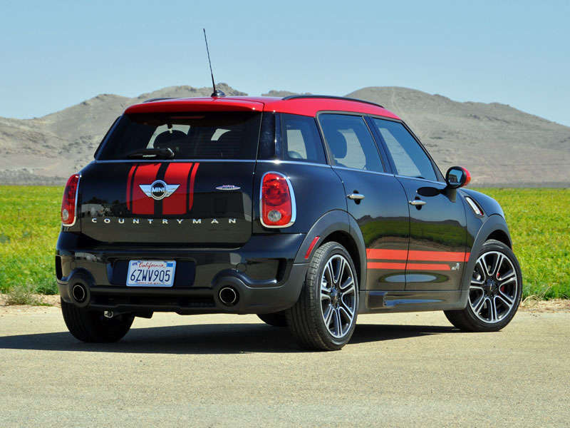 Wheel And Tire >> 2014 Mini Cooper Countryman John Cooper Works Quick Spin ...
