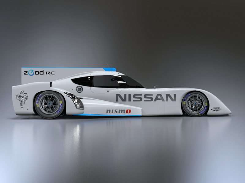 Nissan Unveils Electric Le Mans Racer to the Public