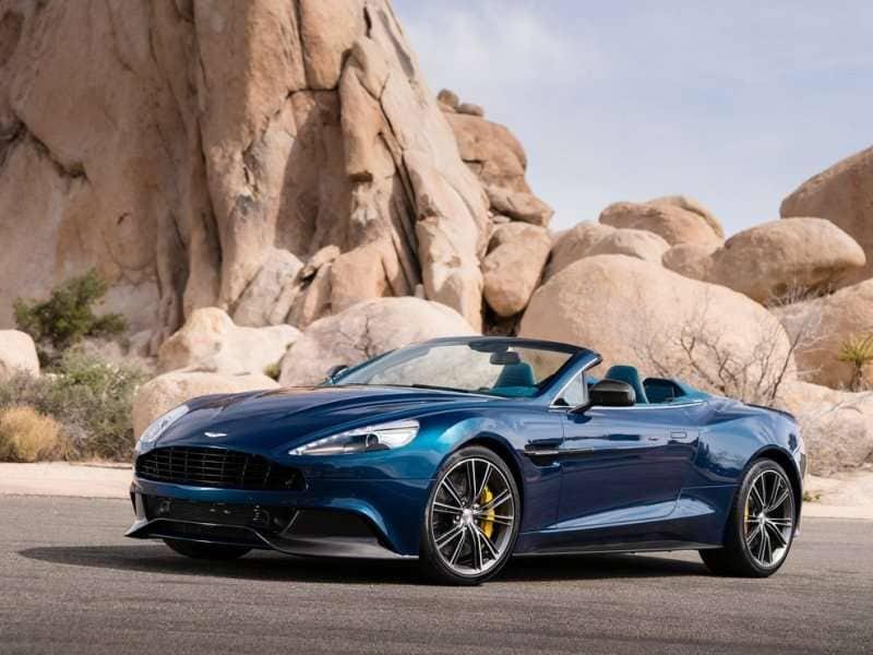 2014 Aston Martin Vanquish Volante Is Neiman Marcus