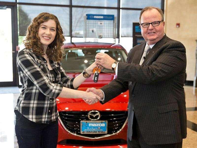 New Mazda Mazda3 Becomes 10-Millionth American Mazda