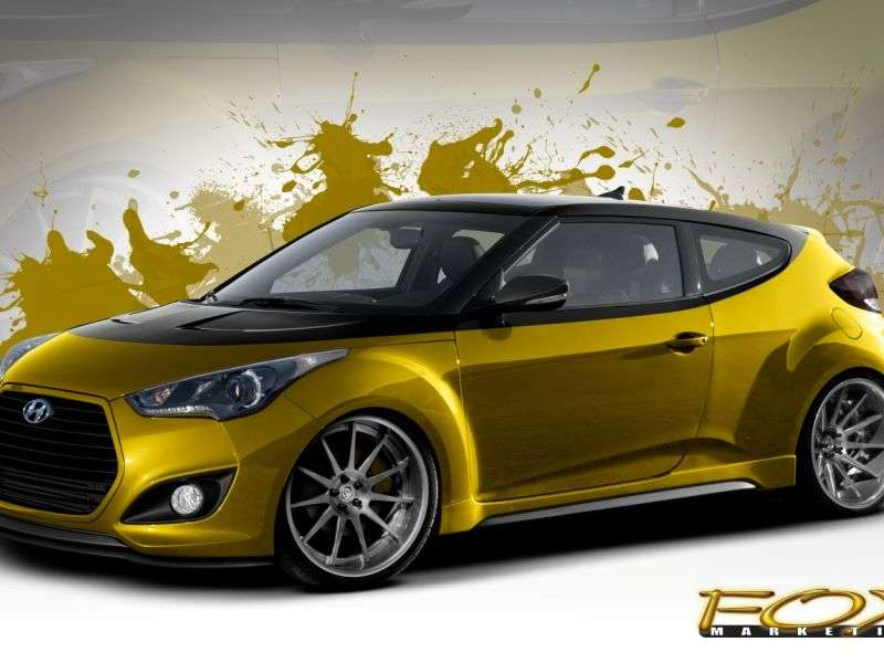 SEMA-bound 2013 Hyundai Veloster Turbo Sets New Power Mark