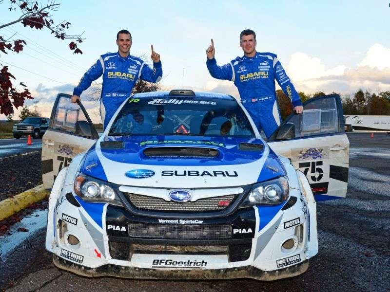 Subaru Rally Team Takes Home Rally America Championship