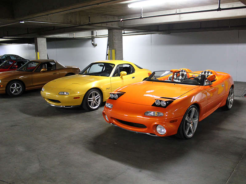 Deep in the Mazda Basement