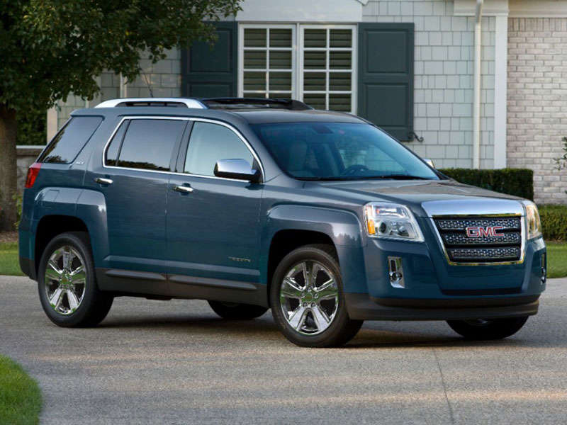2014 gmc terrain crossover suv road test and review. Black Bedroom Furniture Sets. Home Design Ideas