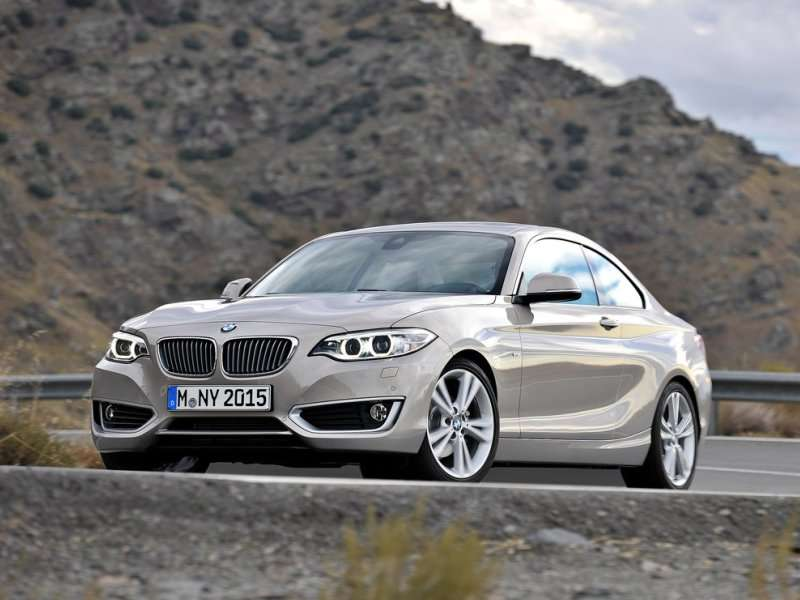 BMW Introduces The 2-Series Coupe