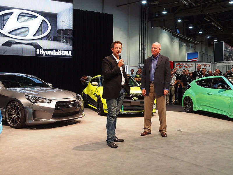 Hyundai Brings Crate Motors And Custom Cars To SEMA